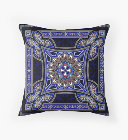 Butterfly Nation Throw Pillow