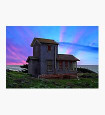 HOUSE IN THE MIDDLE OF NOWHERE Photographic Print