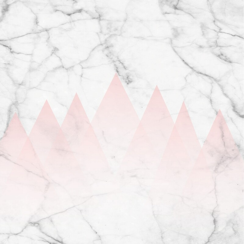 quotwhite marble background pink abstract triangle mountains