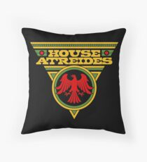 Dune HOUSE ATREIDES Throw Pillow