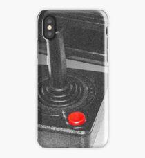 Atari 2600 black & white iPhone Case/Skin