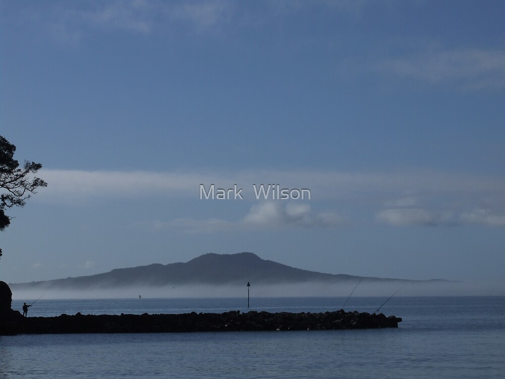 Mist Over Toto by Mark  Wilson