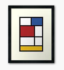 Mondrian #3 Framed Print