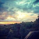 Flowerdale Sunset by Elaine Stevenson
