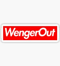 Wenger Out - Arsenal Sticker