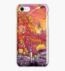 Rick and morty at monster world iPhone Case/Skin