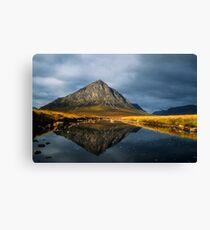 Buachaille Etive Mor, Glen Coe, Highlands of Scotland. Canvas Print