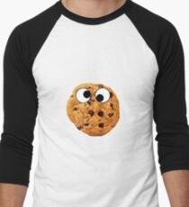 Cookie With Eyes Men's Baseball ¾ T-Shirt