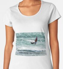 Windsurfing, Cottesloe Beach, Perth Women's Premium T-Shirt