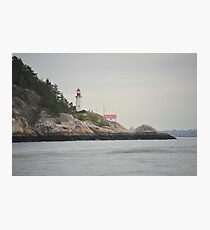 Lighthouse Park West Vancouver Photographic Print