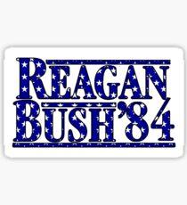 Reagan Bush '84 Stars Sticker