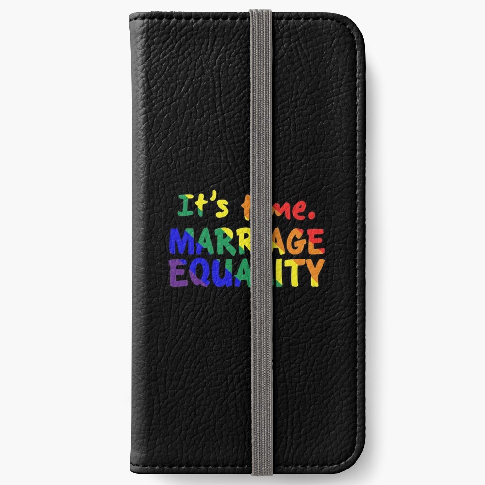 yes vote in marriage equality iPhone Wallet