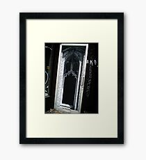 Gothic door Framed Print