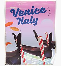 Venice Italy travel poster Poster