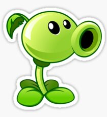 Peashooter from Plants vs Zombies Sticker