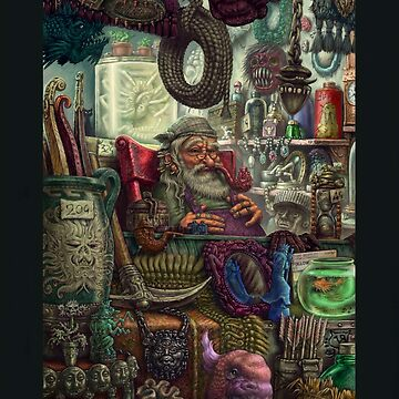 Magic Shop by tonyhough