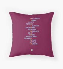 Aston Villa FC - My Old Man Said Throw Pillow