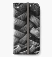 Tower of Tiered Tire Treads iPhone Wallet/Case/Skin