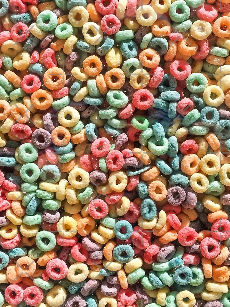 Breakfast of Champions: Fruit Loops by ThisOnAShirt