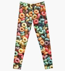 Breakfast of Champions: Fruit Loops Leggings