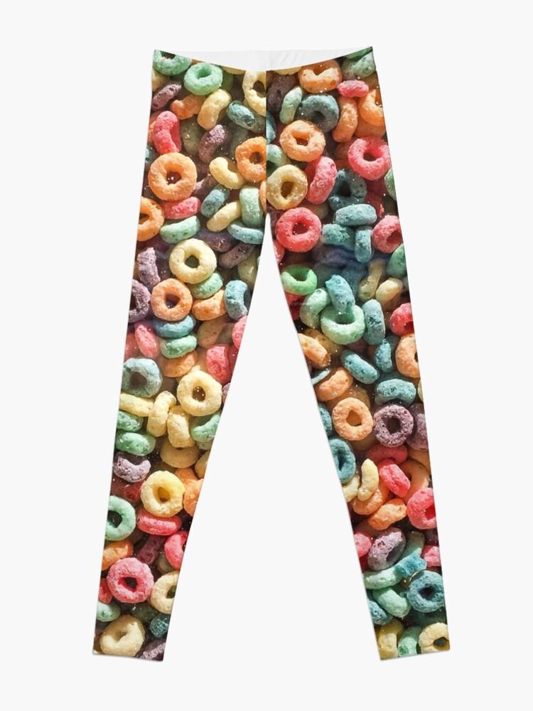 Alternate view of Breakfast of Champions: Fruit Loops Leggings