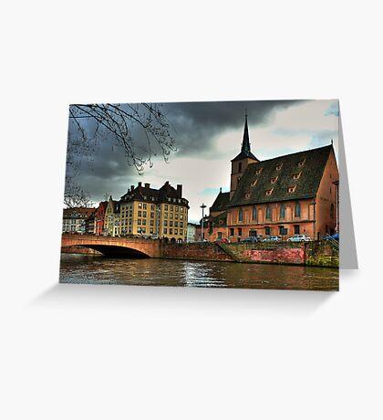 Strasbourg II Greeting Card