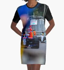 Formula 1 Monza  Graphic T-Shirt Dress