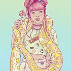 Candid Candy Lady by HypathieAswang