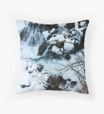 Winter Scene - Nikko, Japan Throw Pillow