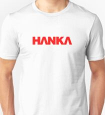 Hanka Logo (Red) - Ghost In The Shell T-Shirt