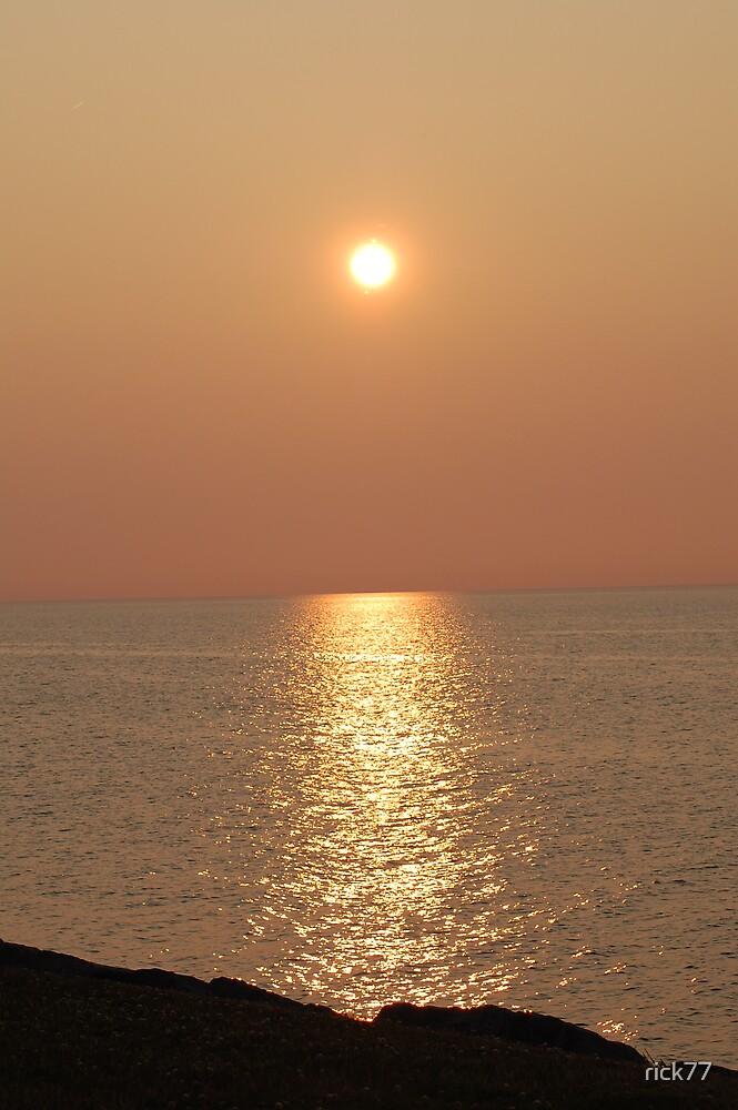 Sunset coast by rick77