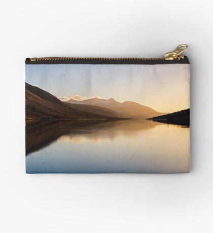 Ben Cruachan in Loch Etive Zipper Pouch