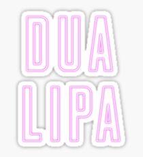 Dua Lipa name 2 Sticker