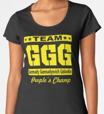 Team GGG Women's Premium T-Shirt