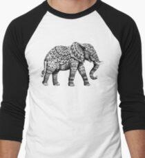 Verzierter Elefant 3.0 Baseballshirt für Männer