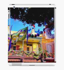 Mardi Gras in New Orleans Square iPad Case/Skin