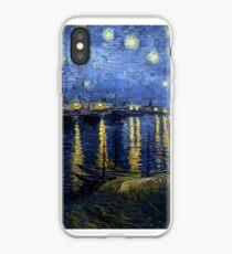 Starry Night Over the Rhone - Van Gogh iPhone Case