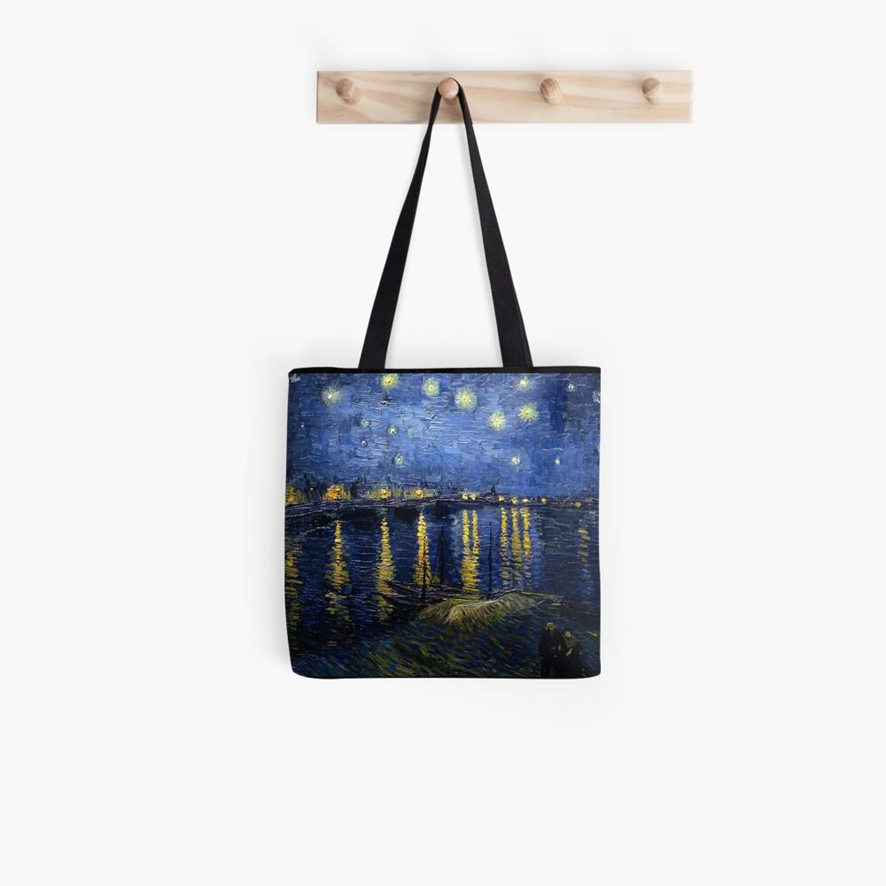 Sternennacht über der Rhône - Van Gogh Tote Bag