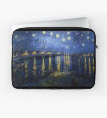 Starry Night Over the Rhone - Van Gogh Laptop Sleeve