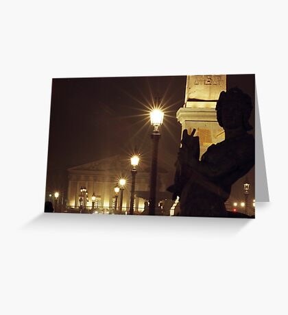 Place de la Concorde - Paris Greeting Card