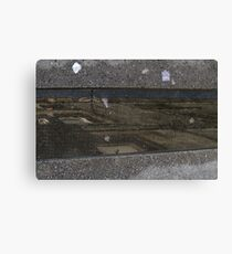 Sky in the gutter Canvas Print