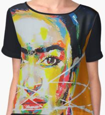 Frida Kahlo Women's Chiffon Top