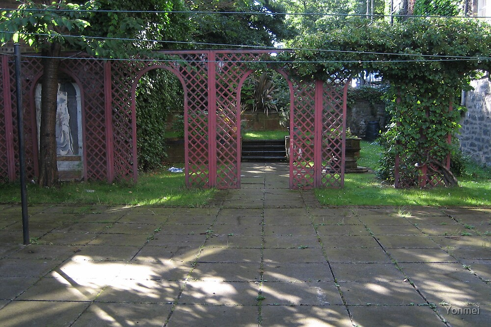Leith Garden on The Shore by Yonmei
