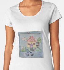 Blues Clues Likes Trap Music Women's Premium T-Shirt