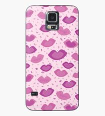 Lip Smacker Case/Skin for Samsung Galaxy