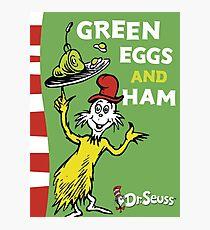 Green Eggs and Ham Photographic Print