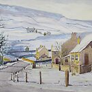 Burnsall in Winter, Yorkshire Dales by Glenn Marshall