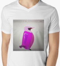 Comedy Penguin Pink Penguin Men's V-Neck T-Shirt
