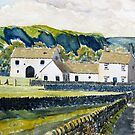 White Farmhouse in the Yorkshire Dales by Glenn Marshall