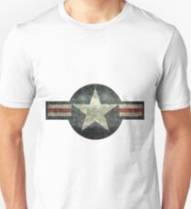 USAF Roundel (faded) T-Shirt